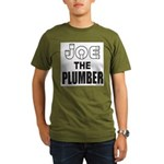 JOE THE PLUMBER Organic Men's T-Shirt (dark)