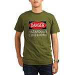 DANGER Organic Men's T-Shirt (dark)