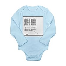 RECESS Long Sleeve Infant Bodysuit