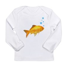 GOLDFISH Long Sleeve Infant T-Shirt