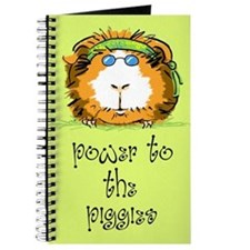 Power to the piggies (green) Journal
