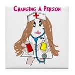 Student Nurse XXX Tile Coaster