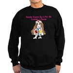 Student Nurse XXX Sweatshirt (dark)