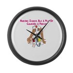 Student Nurse XXX Large Wall Clock
