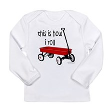 LITTLE RED WAGON Long Sleeve Infant T-Shirt