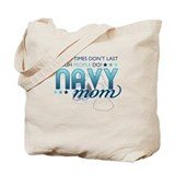 Tough People (Navy Mom) Tote Bag