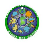 planetpals Earthday Everyday Ornament (Round)