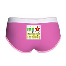 FIRST BIRTHDAY Women's Boy Brief