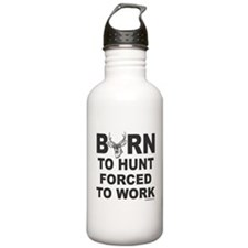 BORN TO HUNT Sports Water Bottle