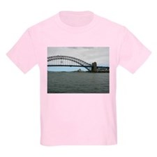 Opera House & Harbor Bridge Kids T-Shirt