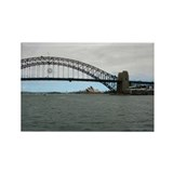 Opera House & Harbor Bridge Rectangle Magnet (10)