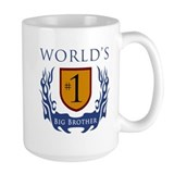 World's Number 1 Big Brother Mug