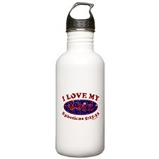 I LOVE MY WIFE Sports Water Bottle