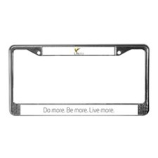Lifeplus License Plate Frame