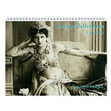 Lunagirl Vintage Bellydance Wall Calendar