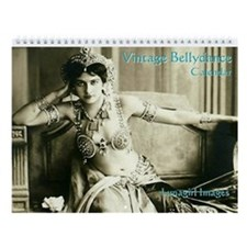 Lunagirl Vintage Bellydance Wall Calendar
