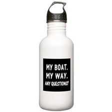 MY BOAT. MY RULES. Water Bottle