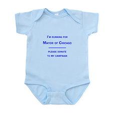 Running for Mayor of Chicago Infant Bodysuit