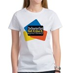 Women's White Smartest Card T-Shirt