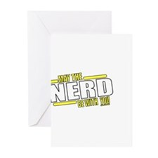 May the Nerd Greeting Cards (Pk of 20)