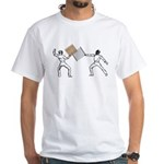 Fencing White T-Shirt