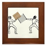 Fencing Framed Tile