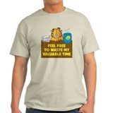 Waste My Valuable Time Men's T T-Shirt