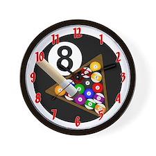 8-Ball Wall Clock