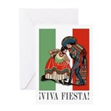 VIVA FIESTA Greeting Card