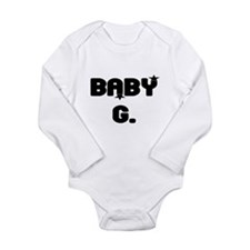BABY G. Long Sleeve Infant Bodysuit