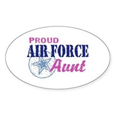 Proud Air Force Aunt Stickers