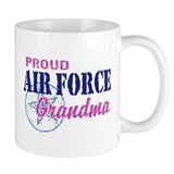 Proud Air Force Grandma Mug