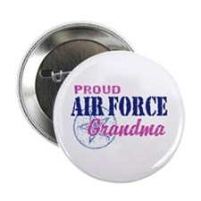 "Proud Air Force Grandma 2.25"" Button"