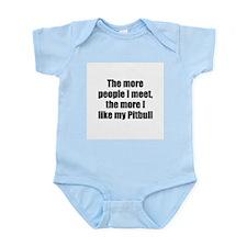 Pitbull Infant Creeper