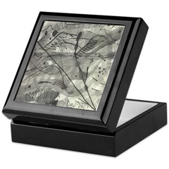 Nicole Pen and Ink Keepsake Box