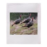 Unique  gobble gobble Throw Blanket