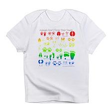 Colorful Rainbow Infant T-Shirt