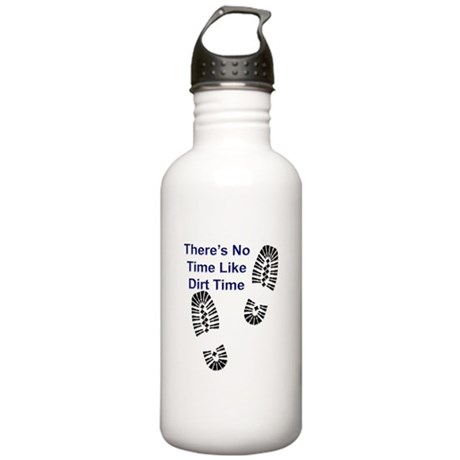 No Time Like Dirt Time Stainless Water Bottle 1.0L