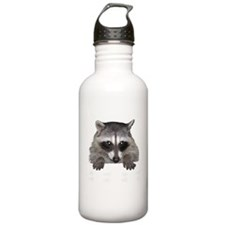 Raccoon and Tracks Water Bottle