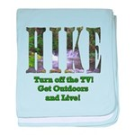 Go For A Hike baby blanket