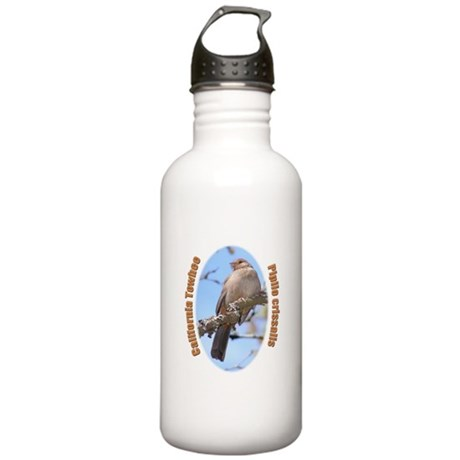 California Towhee Stainless Water Bottle 1.0L