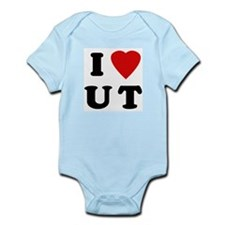 I Love UT Infant Creeper