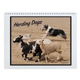 Herding Dogs Wall Calendar