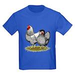 Wyandotte Silver Pair Kids Dark T-Shirt