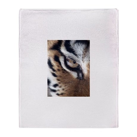 Tiger Eye Throw Blanket