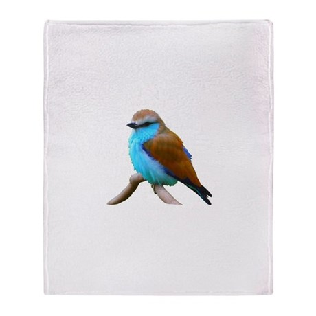 Bluebird Throw Blanket