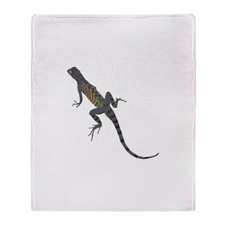 Lizard Throw Blanket