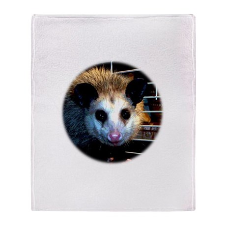 The Opossum Throw Blanket