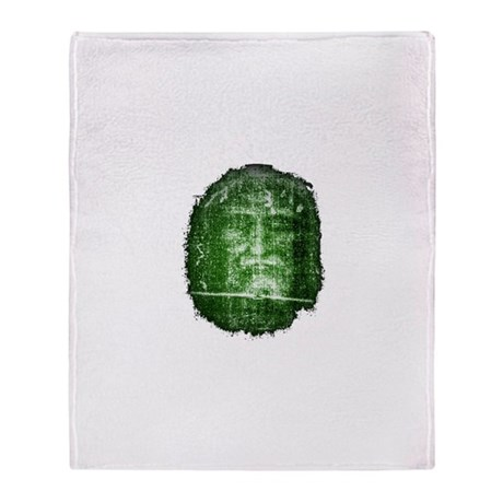 Jesus - Shroud of Turin Throw Blanket