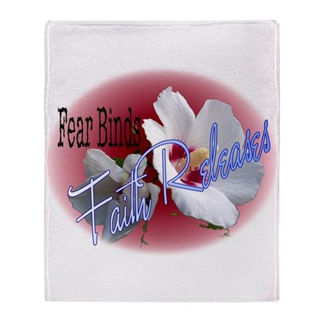 Faith Releases Throw Blanket